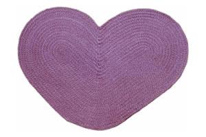 "30"" x 48"" heart rug product image"