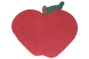 "6"" x 8"" apple rug product image"